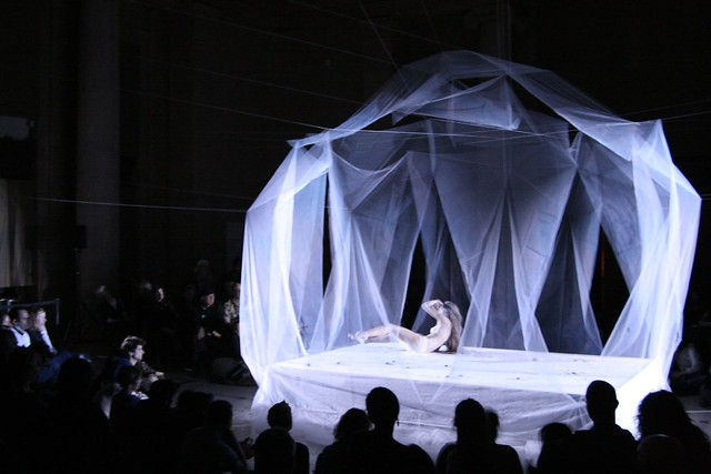 Butoh Performance By Ximena Garnica; Stage Design By Shige
