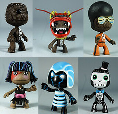 LittleBigPlanet - SackBoys figures | by PlayStation.Blog