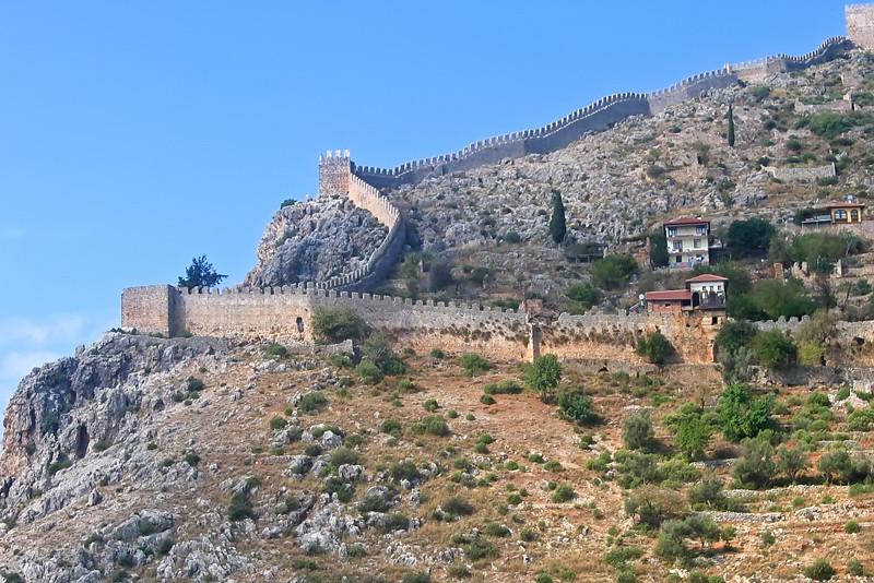 Alanya Castle (Alanya Kalesi)  Turkey, Alanya Ancient Fortr…  Flickr