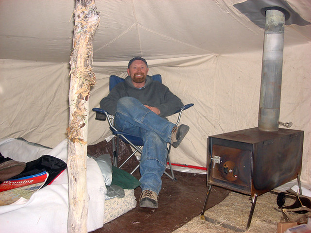 Comfy Inside The Tent Winter Camping At It S Best