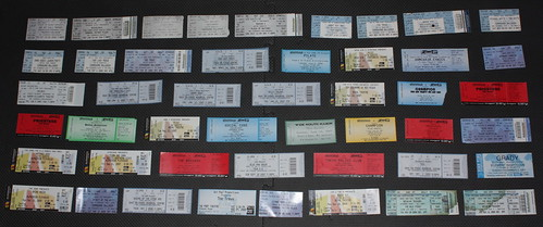 Concert Tickets 2003-2008 | by Shayne Kaye