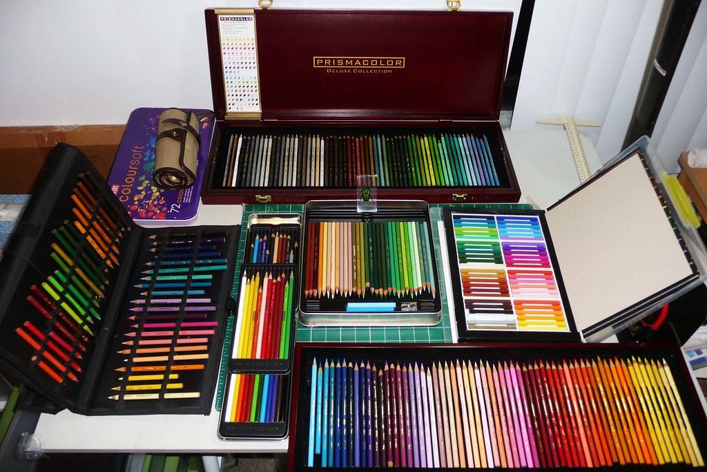 Colored Pencil Sets Collection 3 Prismacolor Range sets op ...