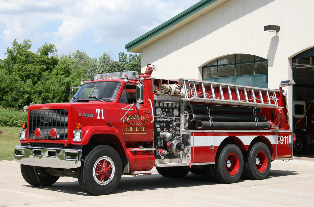 Gmc Brigadier Fire Engine Gmc Brigadier With Pierce