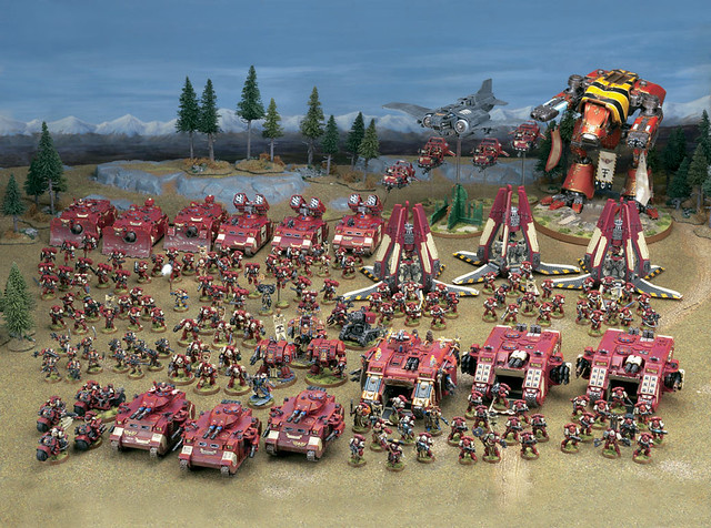 Blood Raven Army | This image is of Games Workshop staff ...