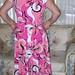 pink conterst dress 005