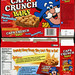 Quaker - Cap'n Crunch bars box - 1997