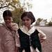 School girls - Chandur Bazaar, India