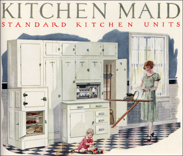 Kitchen Maid Cabinet