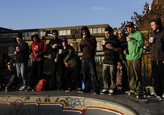coffee break - Stockwell skatepark