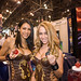 Mana booth babes at NYC Comic-Con 09