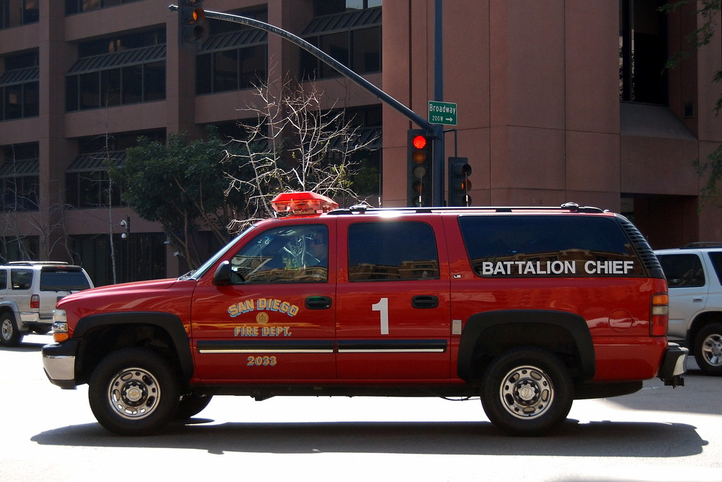 San Diego Fire Department Sdfd Battalion Chief Chevy S Flickr