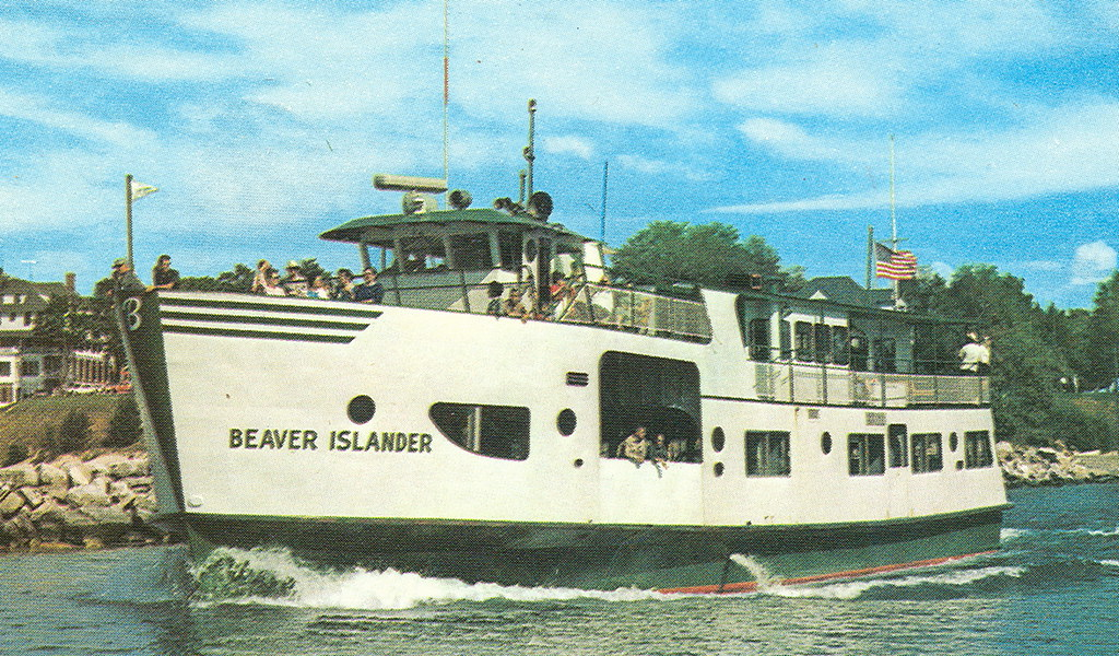Ferry Boat To Beaver Island Mi