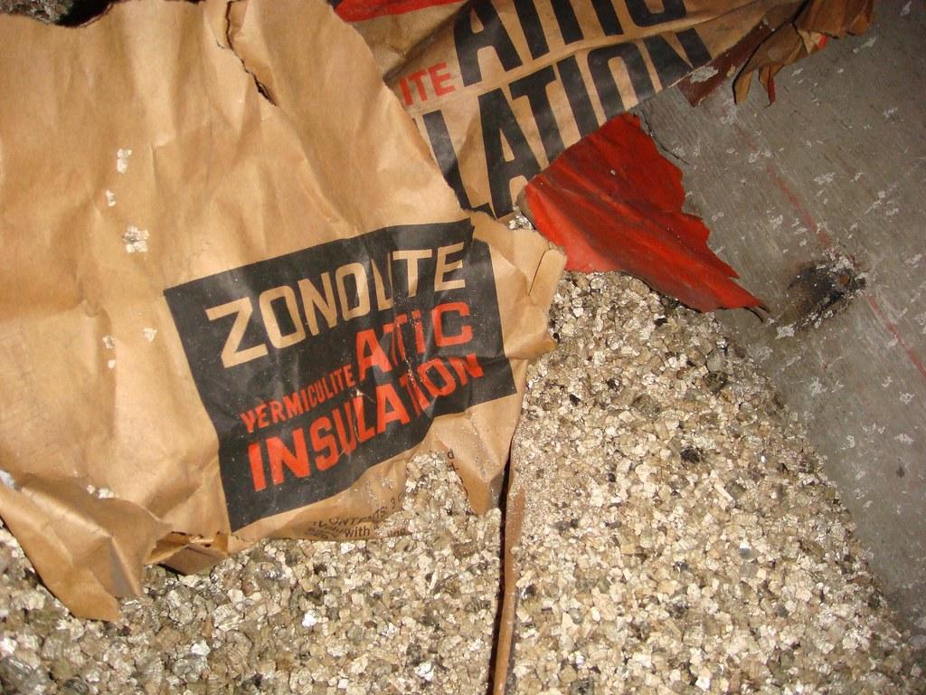 Asbestos Contaminated Vermiculite Zonolite Vintage