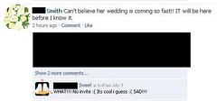 facebook wedding drama | by passiveaggressivenotes