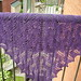 purple moth shawl