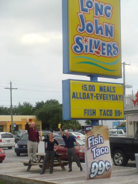 Free fish taco day at long john silver 39 s posted via for Long john silvers fish
