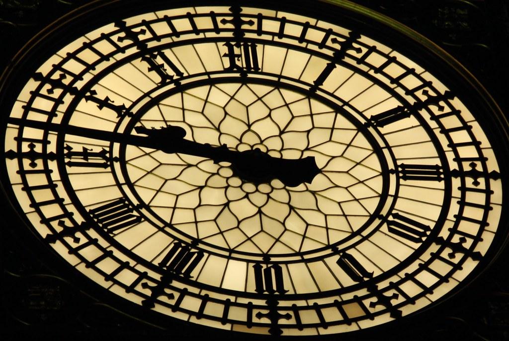 "Close up of ""Big Ben"" Clock Face   The clock faces are ..."