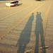 Morning Beach Shadows