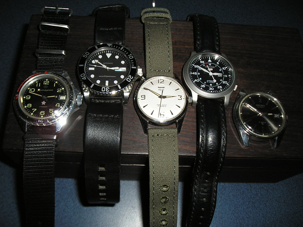 Watch collection (very humble)