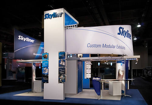 Trade Show Booth Objectives : Skyline exhibits trade show exhibit display