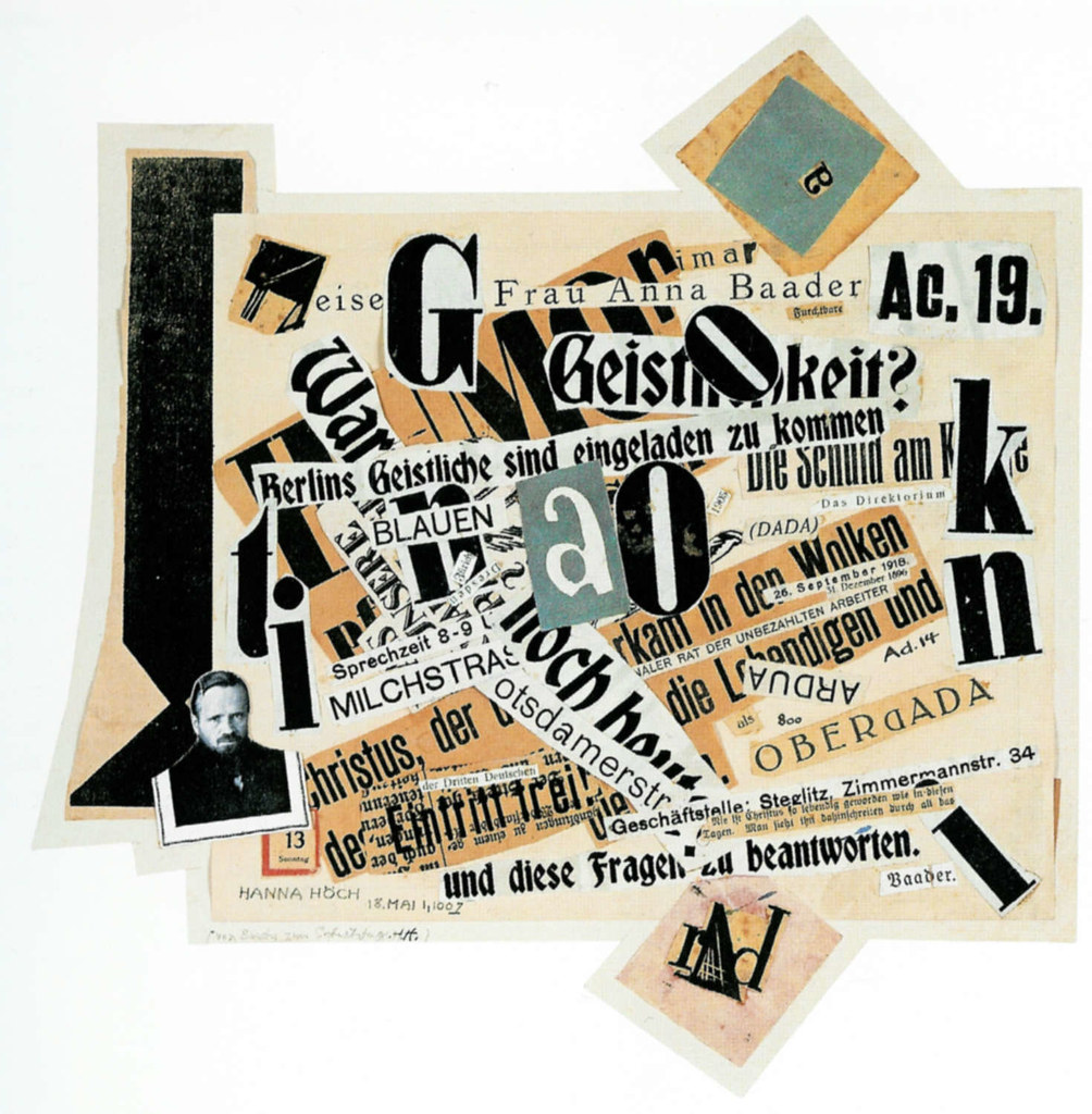 dada collage johannes baader collage laura popdesign flickr. Black Bedroom Furniture Sets. Home Design Ideas