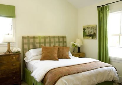 green white brown bedroom i 39 m not crazy about the headb
