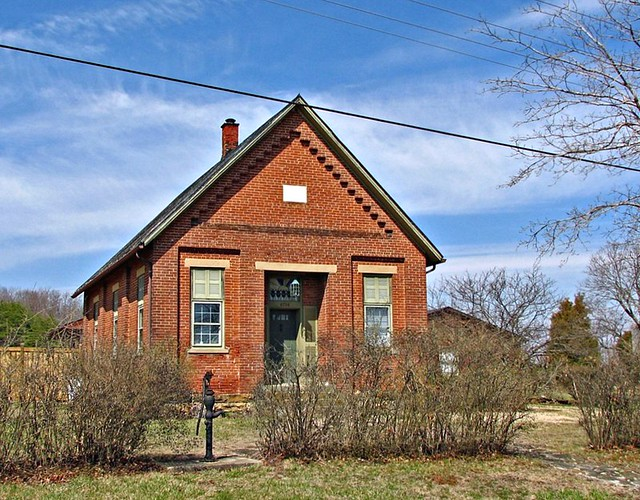 Old biers run schoolhouse now a residence the one room sc