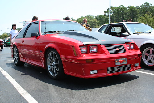 Red Ford Mustang 5.0 - Fox body custom | Flickr - Photo ...