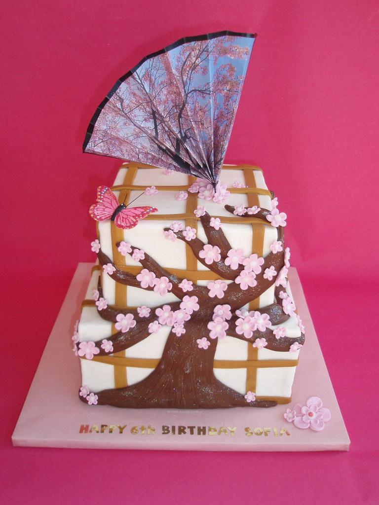 Cherry Birthday Cake Images