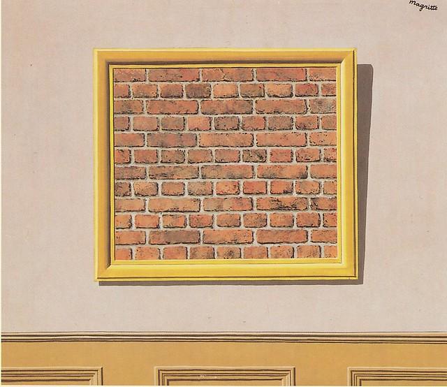 Cadre Vide le cadre vide | 1934, rené magritte (1898-1967) | Ωméga * | flickr