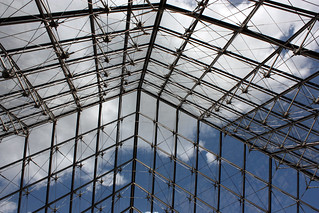 Louvre pyramid roof | by essexglover