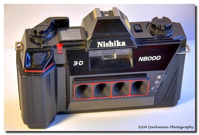 Nishika N8000 3d Quadra Lens System Camera 182 365 Oh