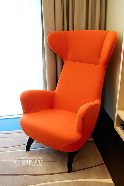 Orange Zanotta Armchair   Dan U0026 Luiza, TravelPlusStyle.com   Flickr