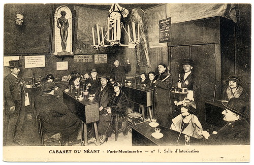 The Cabaret of Nothingness: Intoxication Room (c.1920) | by postaletrice