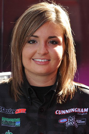 The New Ford Mustang >> Erica Enders | Cunningham Racing driver Erica Enders who pil… | Flickr