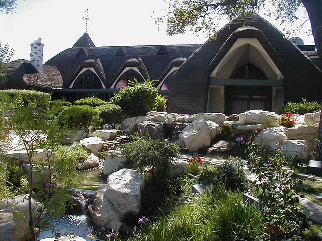 Oak Hill Memorial Park Chapel Of Roses Park Location San Flickr