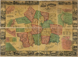 Map of New London County, Connecticut | by uconnlibrariesmagic