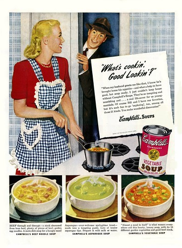 1947 Campbell's Soup Ad | by clotho98