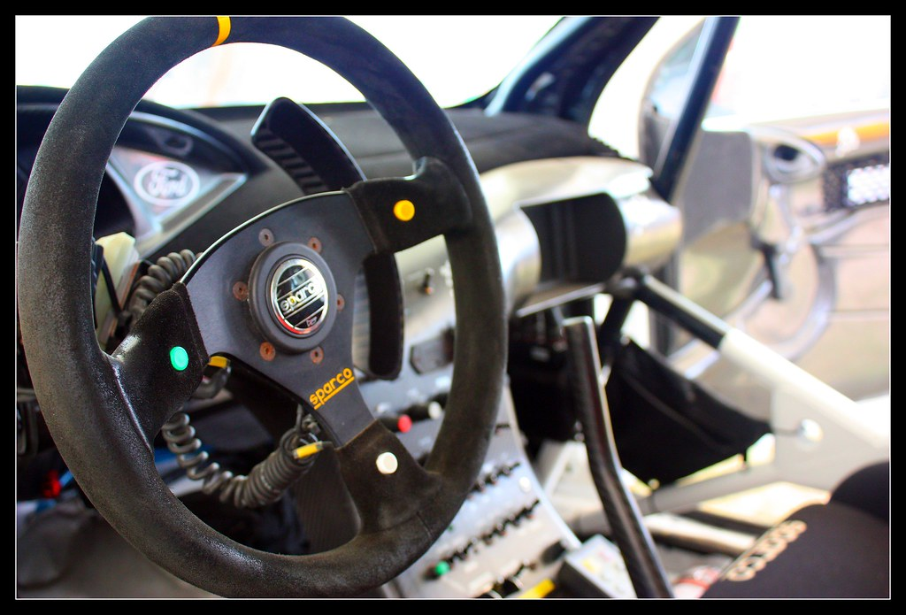 Goodwood Festival Of Speed 2009 Ford Focus Wrc Interior Flickr