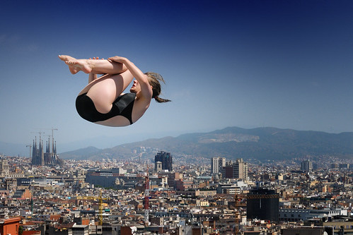 Jump over the world flickr photo sharing for Piscina montjuic barcelona