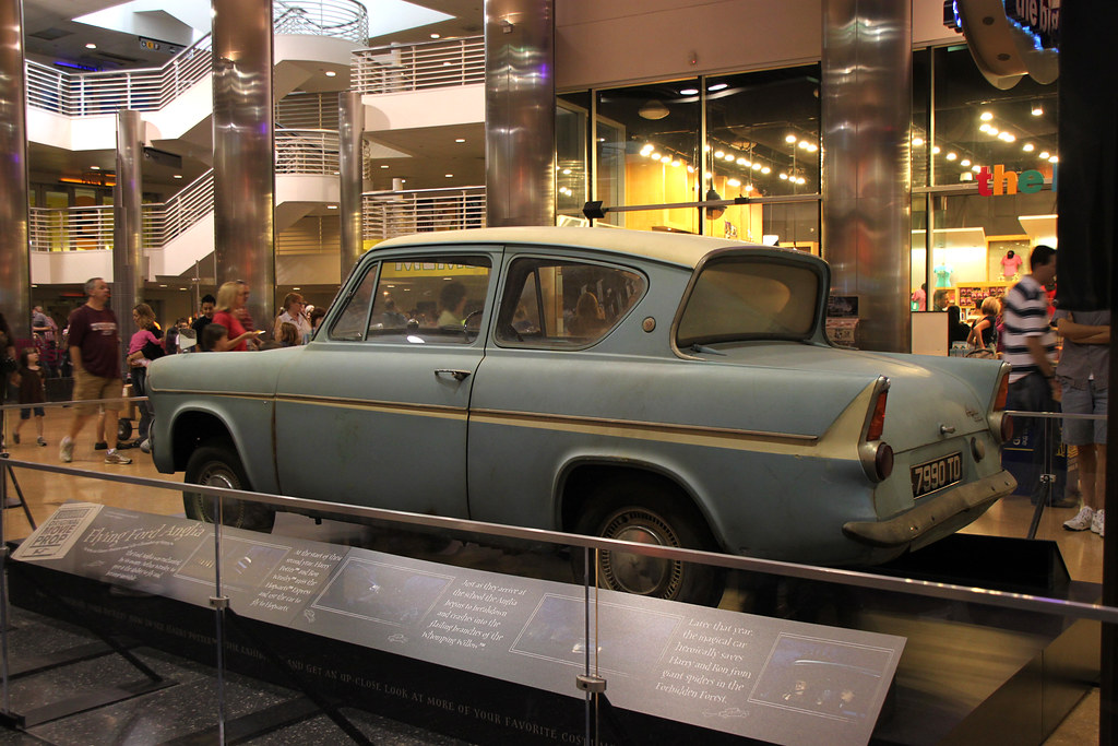 Big As Fan >> Harry Potter Ford Anglia Movie Prop | Light blue 1962(?) For… | Flickr