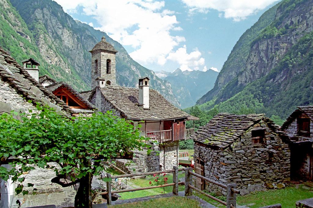 Val Bavona Ticino Switzerland Val Bavona Ticino