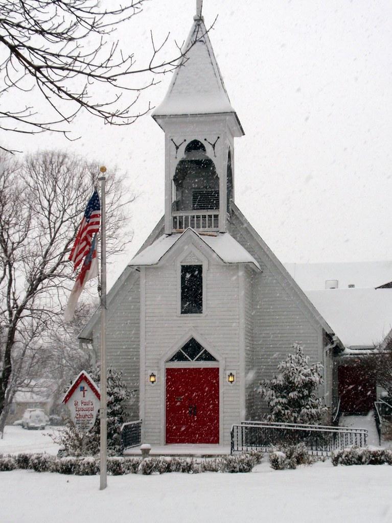 St Paul S Lee S Summit Snow Storm 2009 Feb St Paul S