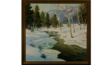 Winter Scene | by Highland Park Public Library