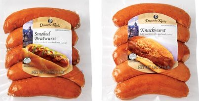 how to cook knockwurst and bratwurst