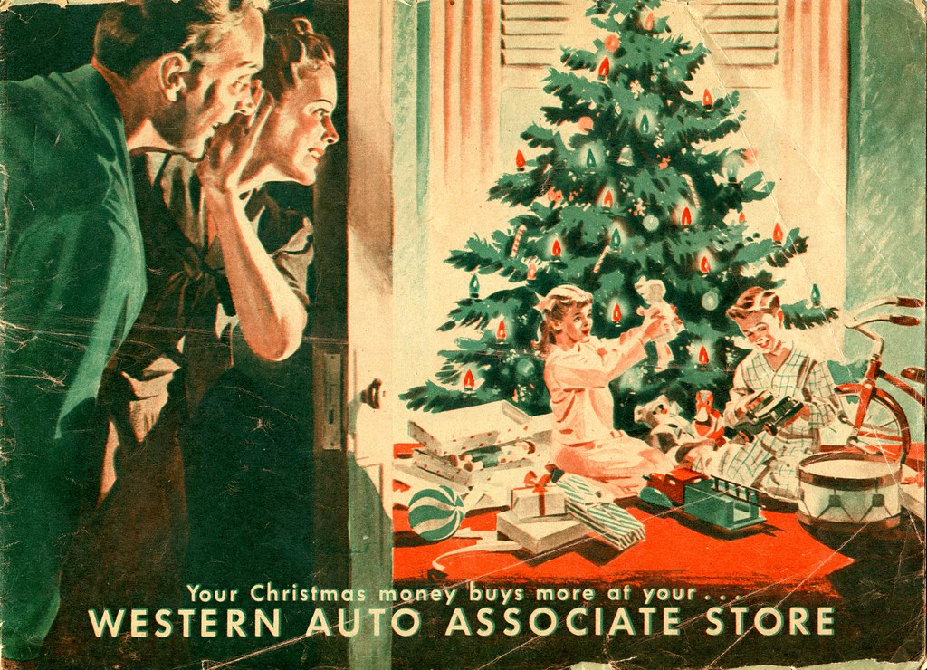 Western Auto - Christmas - late 40's early 50's - Cover | Flickr