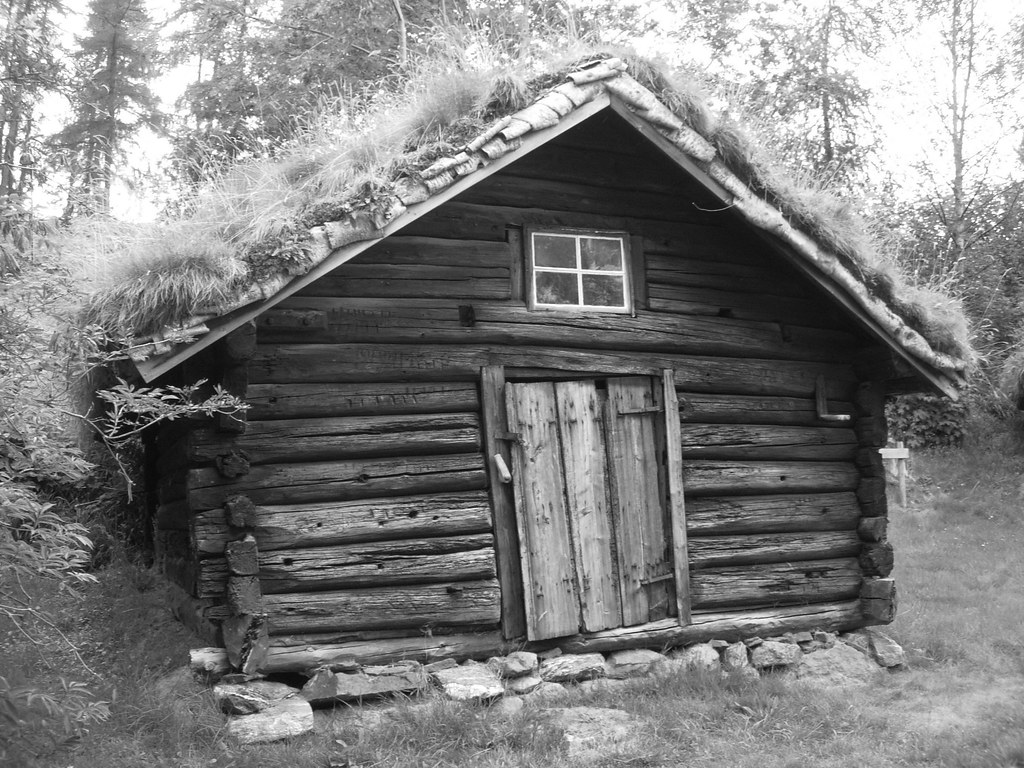 Old wooden house anita Flickr