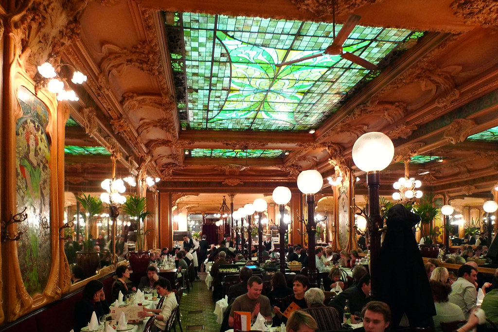 Brasserie julien paris hauptsach gudd gess flickr for Interieur art deco