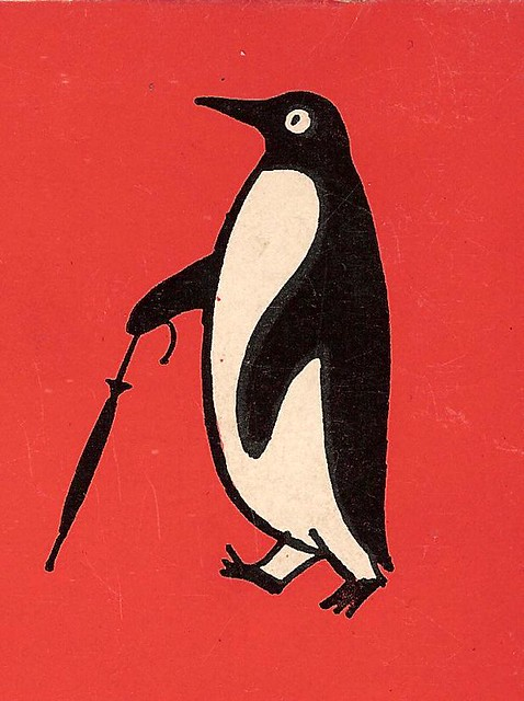 Penguin Book Cover Jobs : Penguin number detail from the back cover of