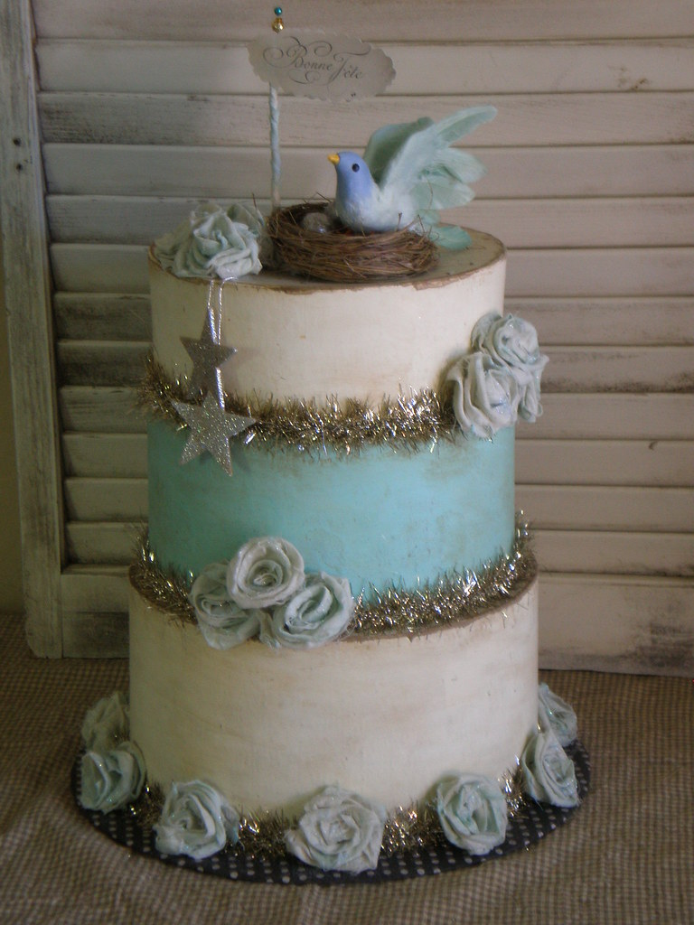 Paper Mache Cake | Paper mache cakes ~ fun & festive ...